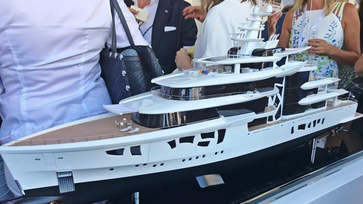 Nobiskrug superyacht Artefact model