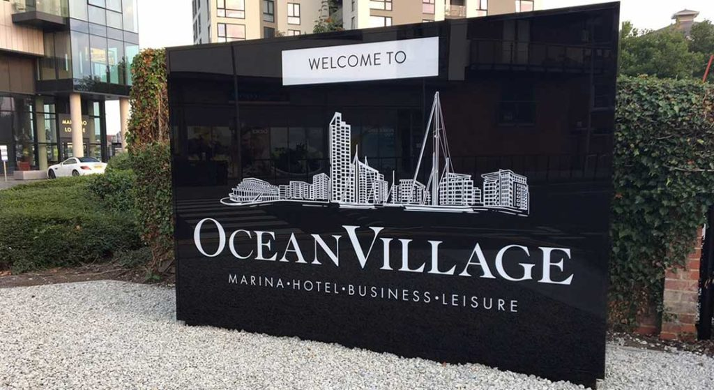 Ocean Village Marina for megayachts in Southampton