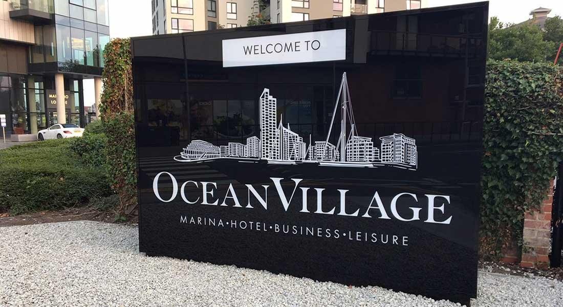 Ocean Village Marina for megayachts in Southampton