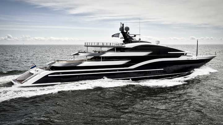 Oceanco Dar superyachts to see at the Monaco Yacht Show