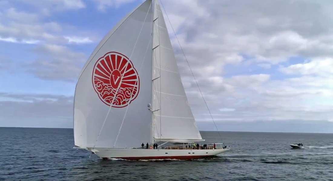 Pendennis sailing superyacht Vijonara
