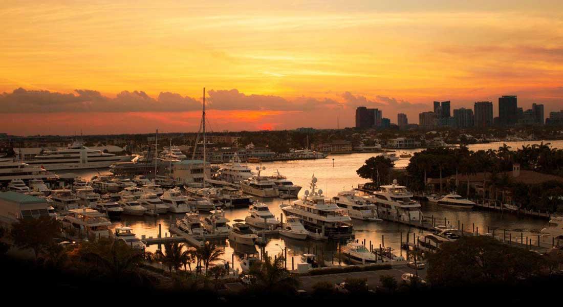 Pier Sixty-Six Marina megayachts