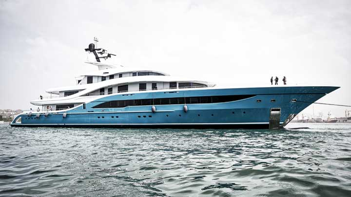Turquoise Yachts Go superyachts to see at the Monaco Yacht Show