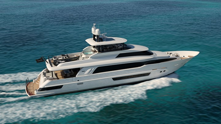 Crescent 117 Fast Pilothouse megayacht