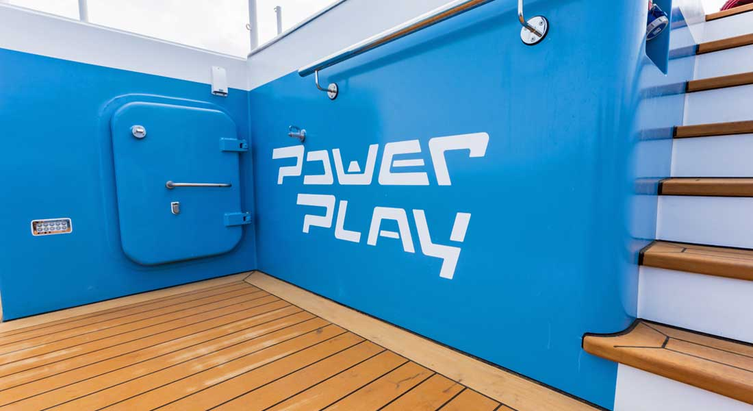Damen Yacht Support Power Play superyacht