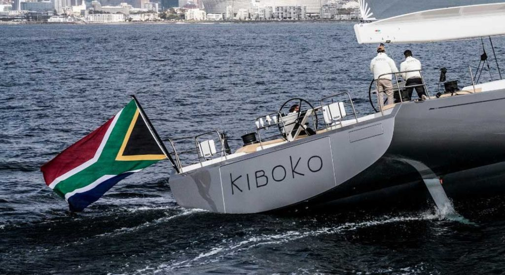 Kiboko Tres sailing superyacht
