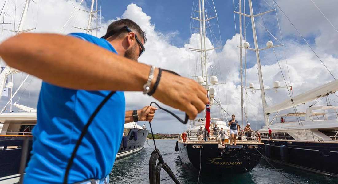 Perini Navi Cup sailing superyachts 2018