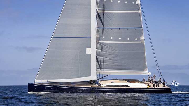Swan 115 Odin sailing superyacht