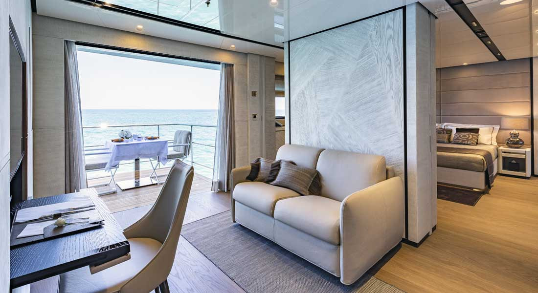 Cecilia, Wider 165: Megayacht News Onboard