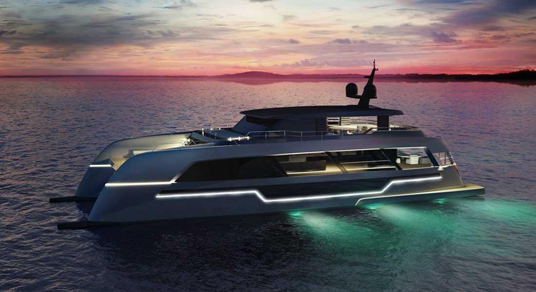 120 Sunreef Power superyacht catamaran