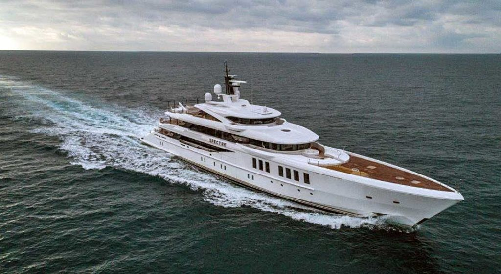 Benetti superyacht Spectre the story of Spectre