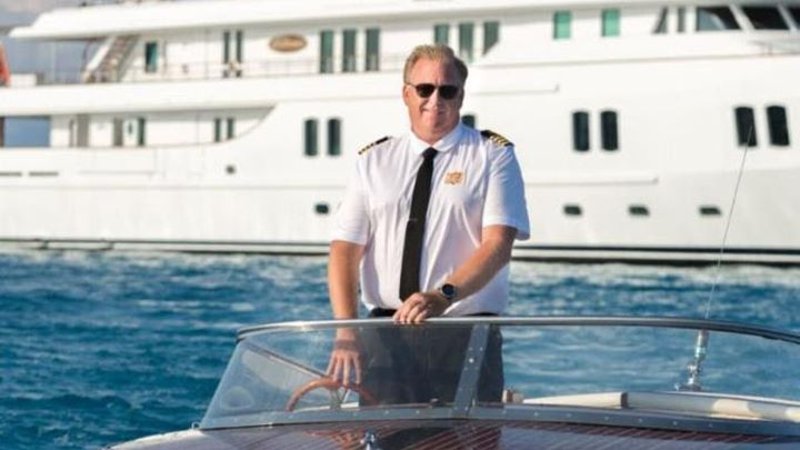 Capt Mike O'Neill superyacht Katherine leadership awards ISS