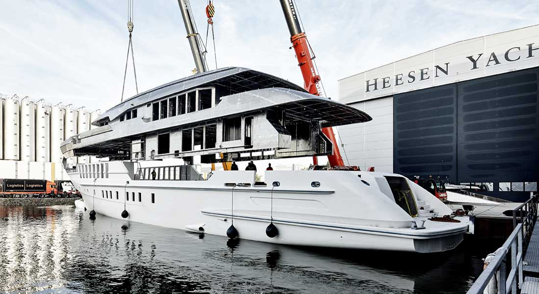 Heesen superyacht Project Castor