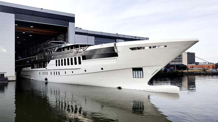 Heesen megayacht Project Castor