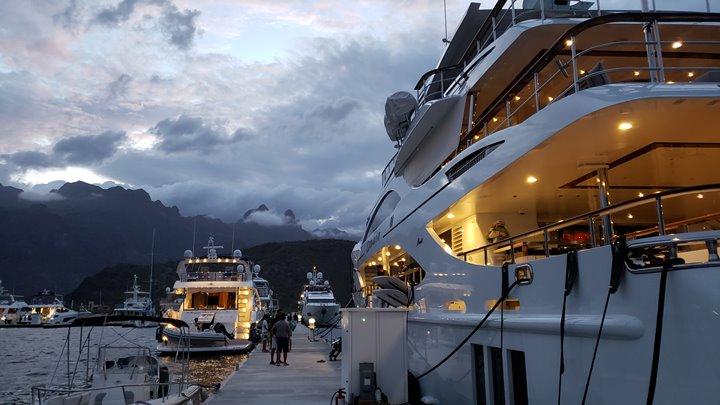 Marina Puerto Escondido megayachts