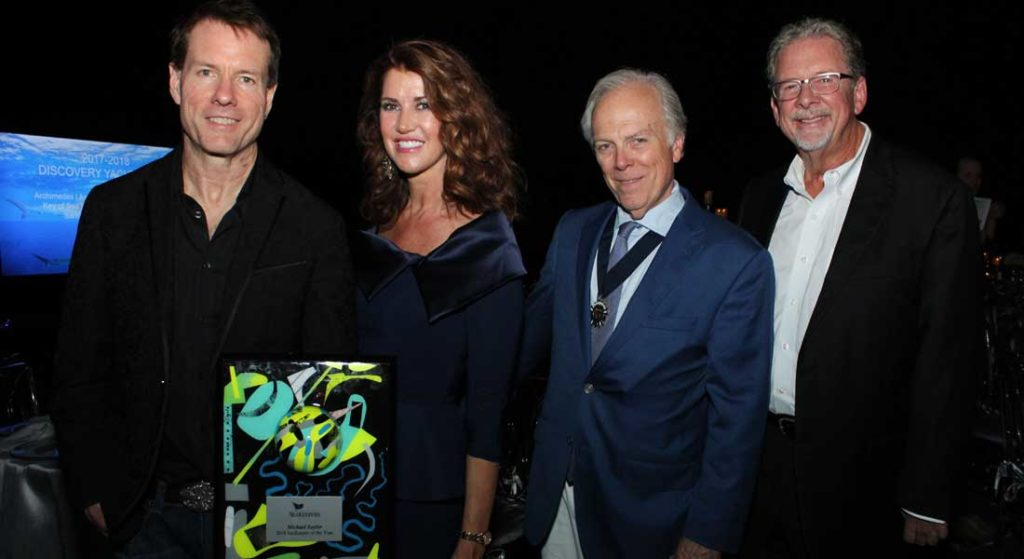 Michael Saylor superyacht owner International SeaKeepers Society SeaKeeper of the Year 2018