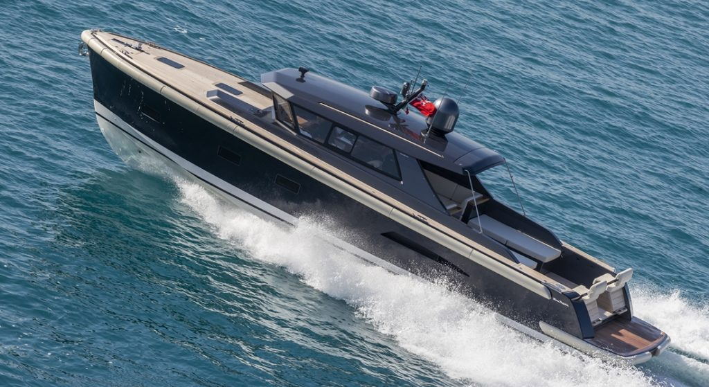 Nauta Tender 48 for sailing superyacht