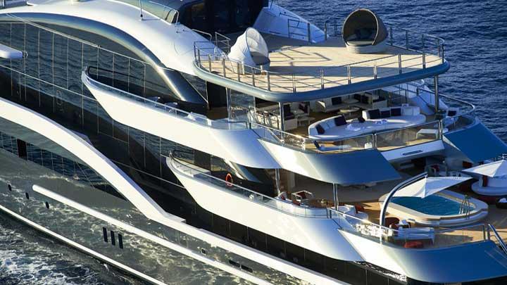 Oceanco megayacht DAR
