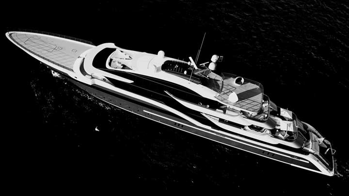 Oceanco megayacht DAR is nominated for the International Superyacht Society Awards of Distinction