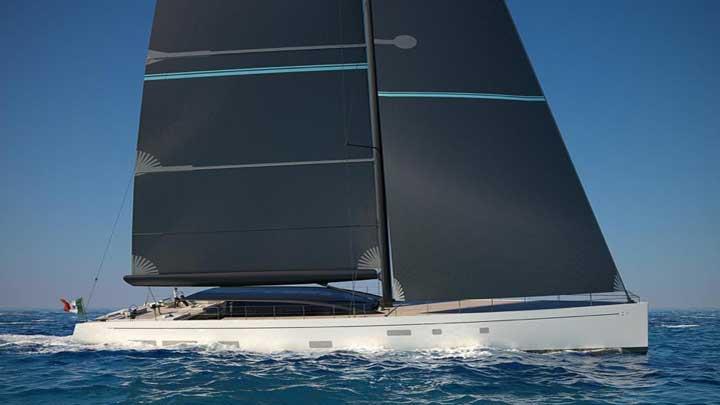 Perini Navi 42M E-volution GTS sailing superyacht
