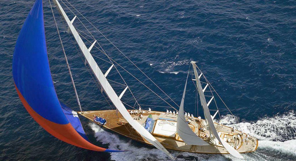 Superyacht Challenge Antigua Rebecca racing