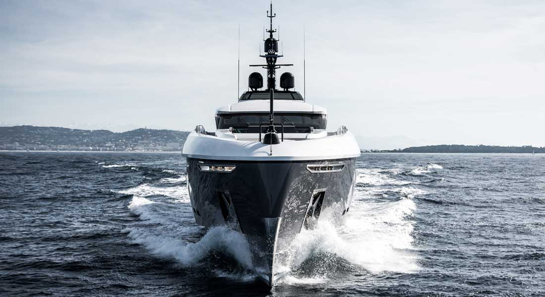 Rossinavi Utopia IV megayacht up for an International Superyacht Society Awards of Distinction
