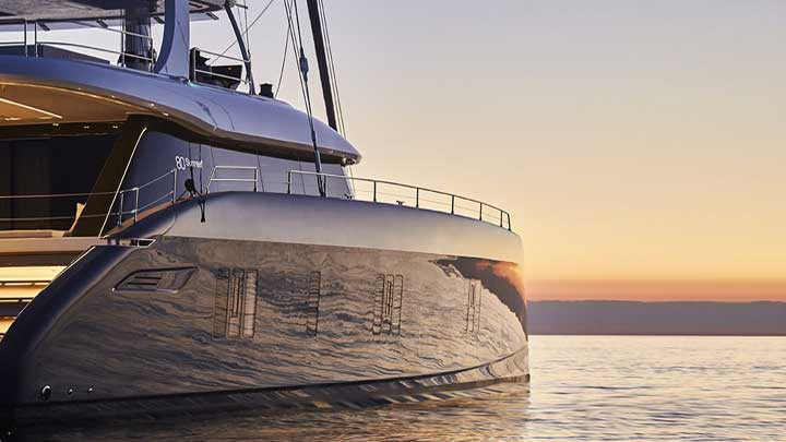 Sunreef 80 sailing supreyacht Gaya