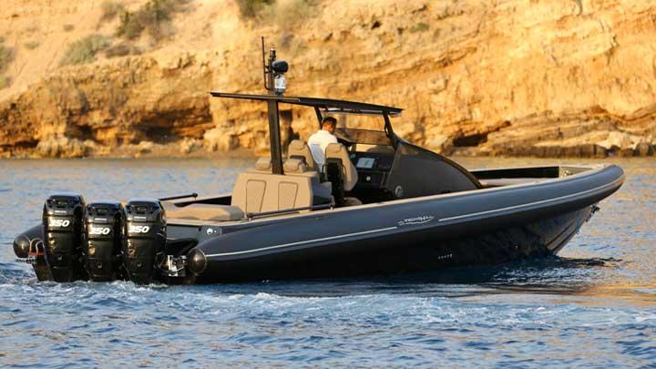 Technohull Omega 45 RIB megayacht tender