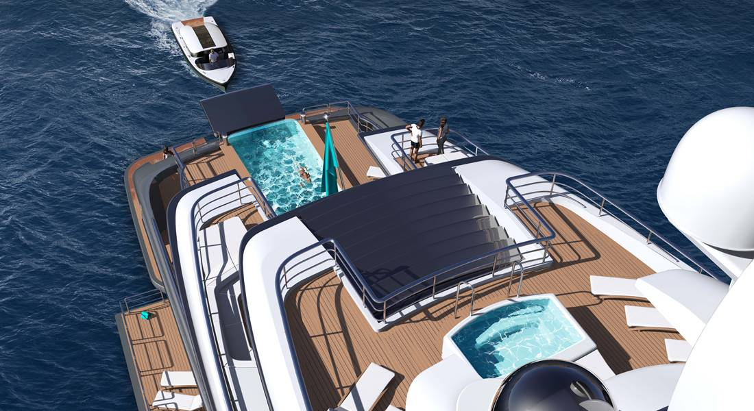 Turquoise Quantum yacht concept megayacht