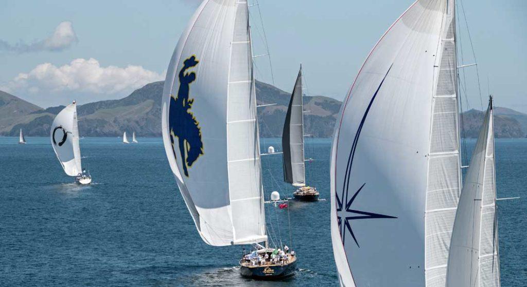 2018 NZ Millennium Cup competitors superyacht regatta