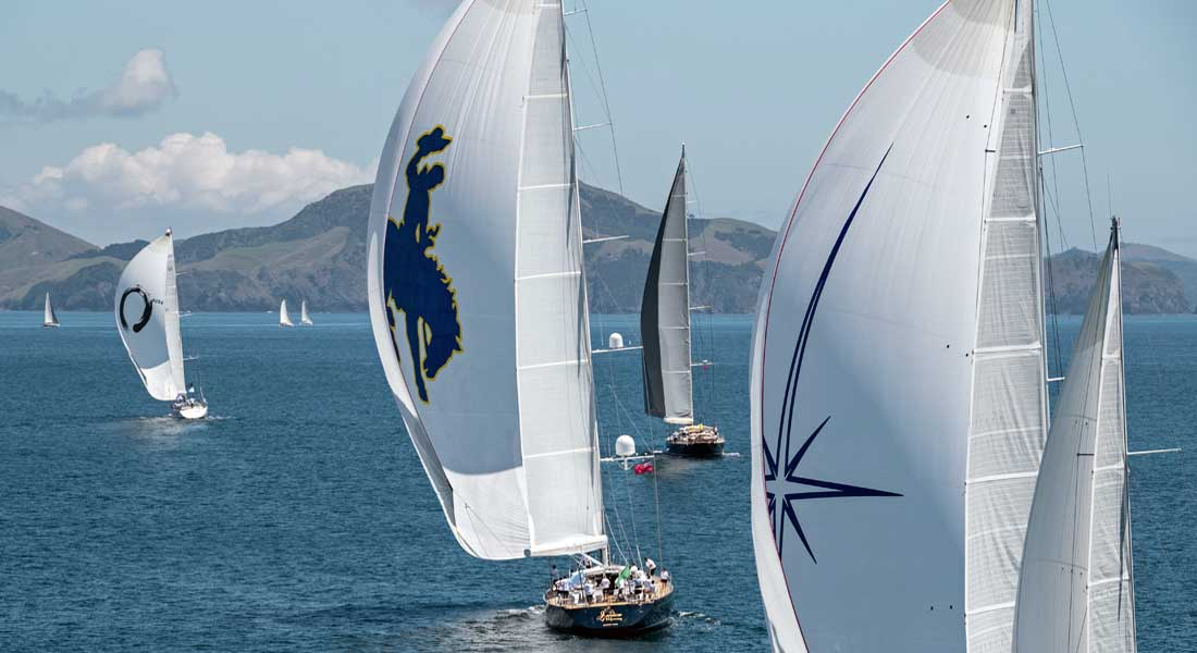 2018 NZ Millennium Cup competitors superyacht regatta