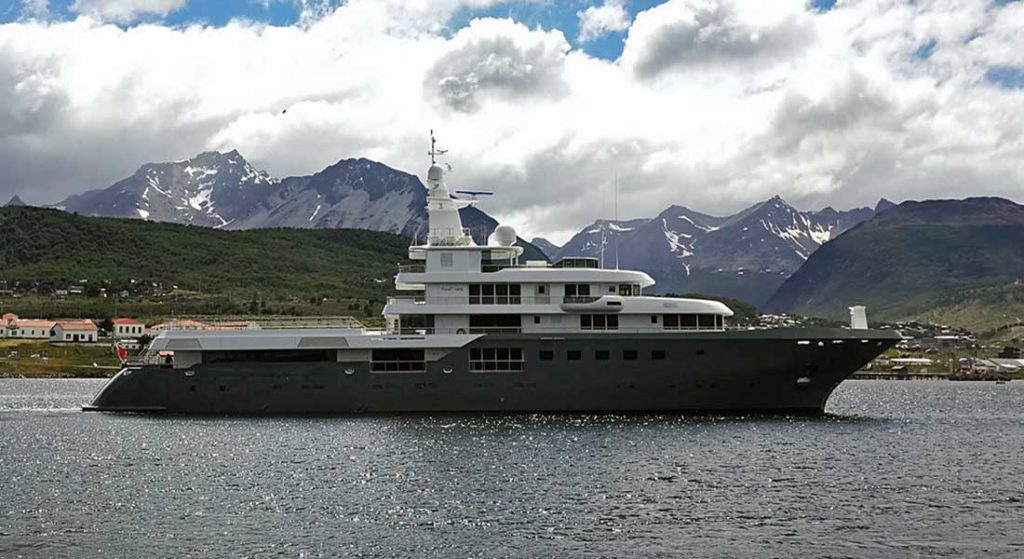 Planet Nne megayacht Admiral Yachts new charter yachts