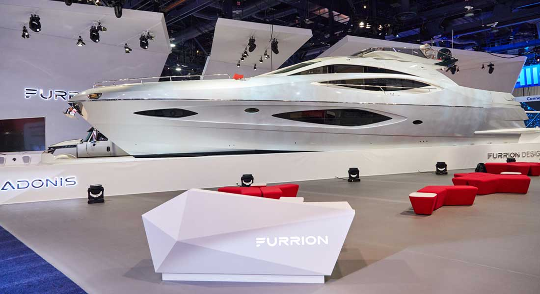 Adonis Numarine megayacht Furion Angel artificial intelligence