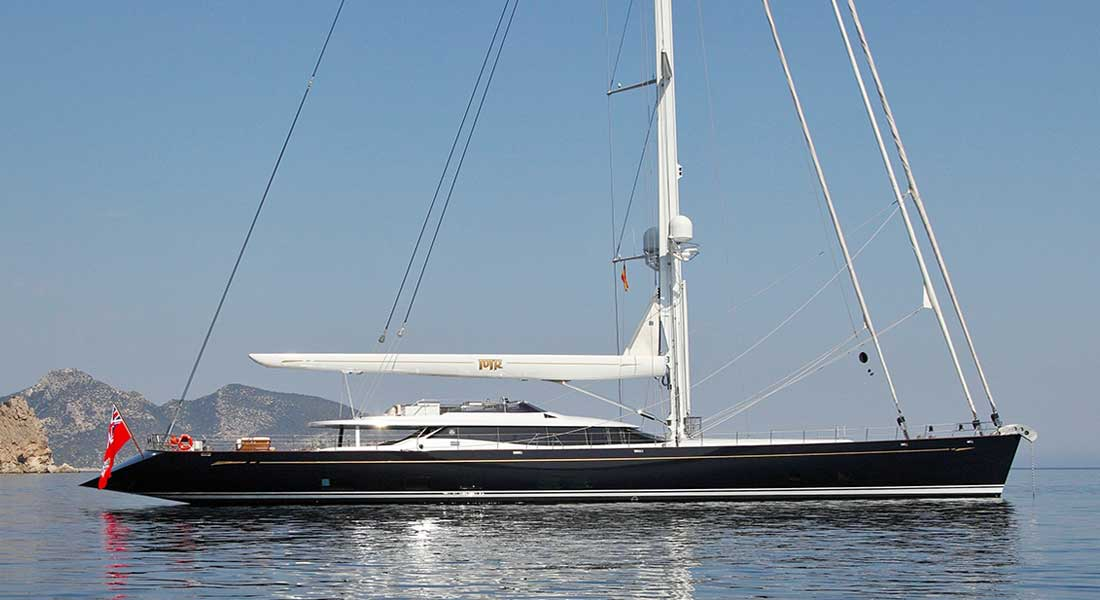 Prana sailing superyacht