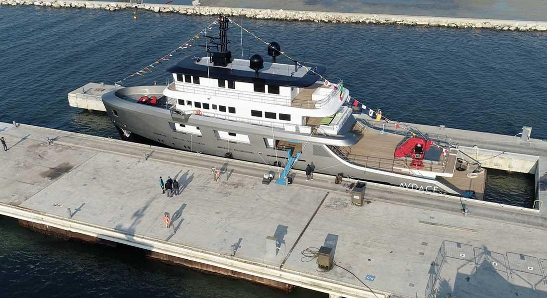 CdM K2 megayacht Audace