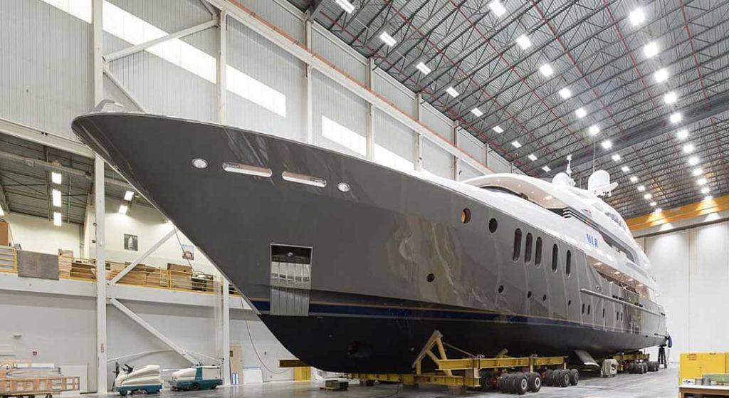 Delta Marine megayacht MLR