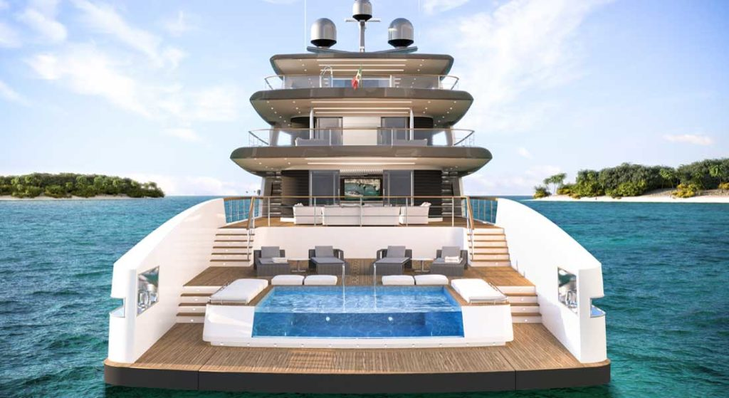Rosetti Superyachts 50M Supply Vessel megaycht Ceccarelli design