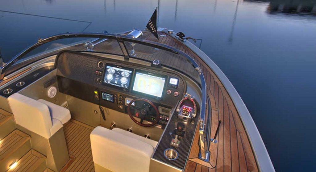 Reliant Yachts X40T Limousine Tender megayacht tender