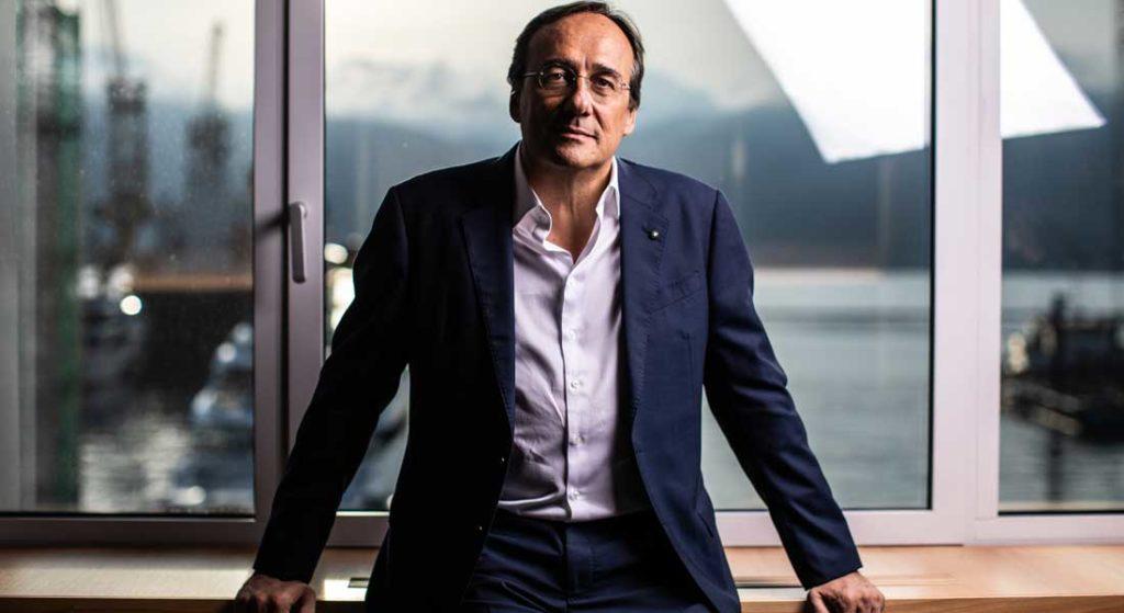 Sanlorenzo megayacht builder Massimo Max Perotti chairman CEO