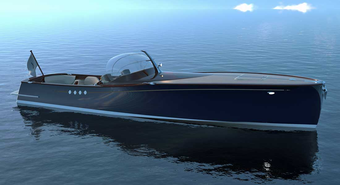 Spirit P40 superyacht tender