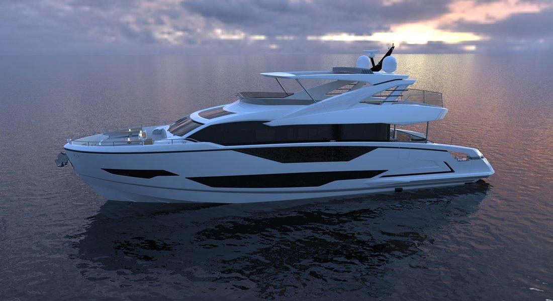 Sunseeker Project 8X megayacht