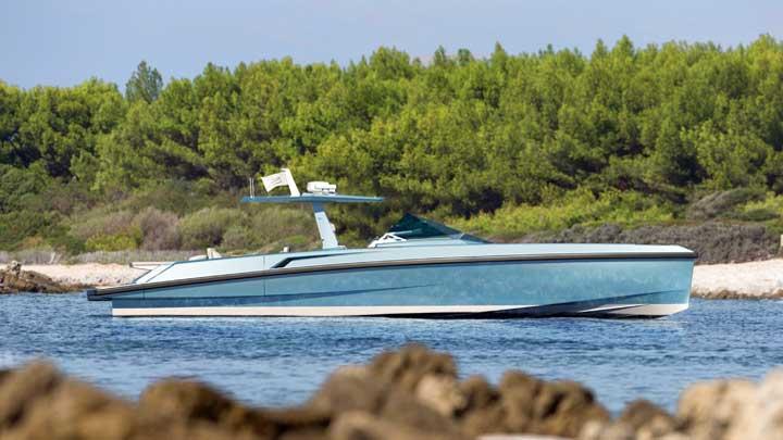 Wallytender 48 megayacht