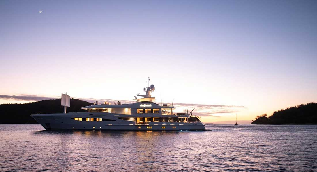 Amels Driftwood superyacht
