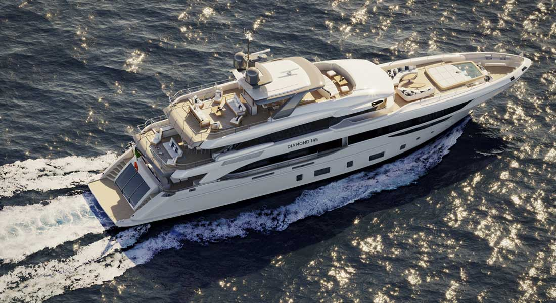 Benetti Diamond 145 megayacht