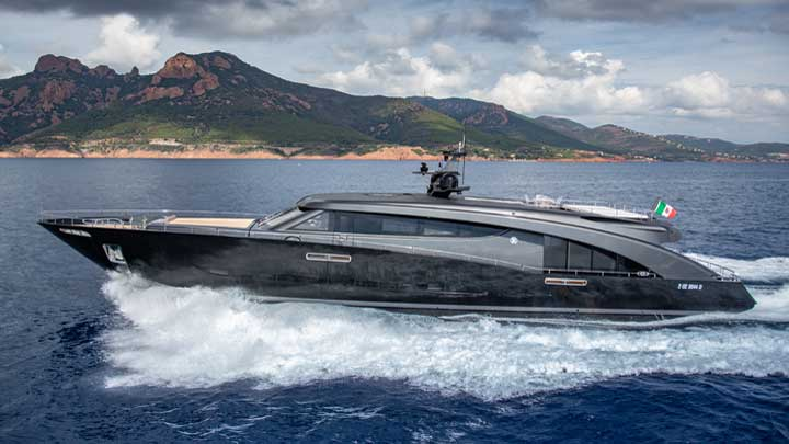 CCN megayacht Freedom Roberto Cavalli is up for an International Superyacht Society Awards of Distinction