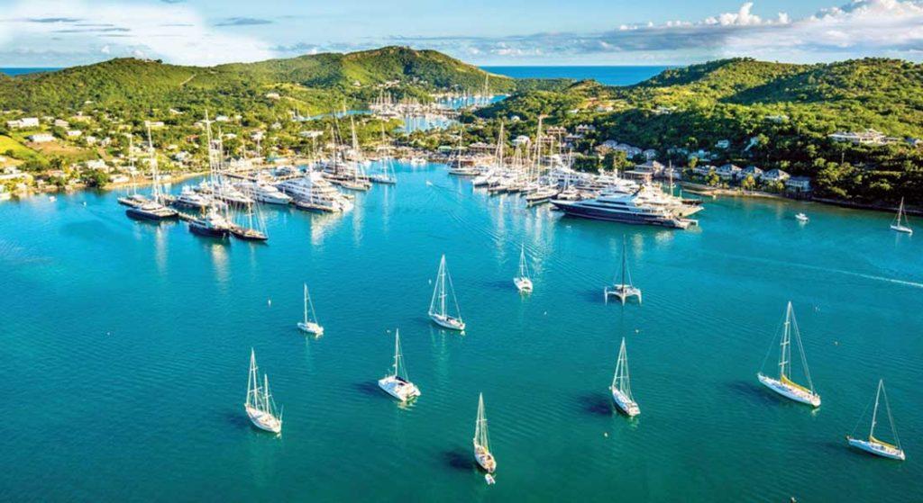 Half Moon Bay Antigua megayacht marketing partnership with Edmiston