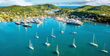 Half Moon Bay Antigua megayacht marketing partnership with Edmiston