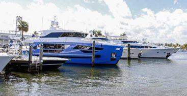Horizon Yacht USA megayacht open house Fort Lauderdale