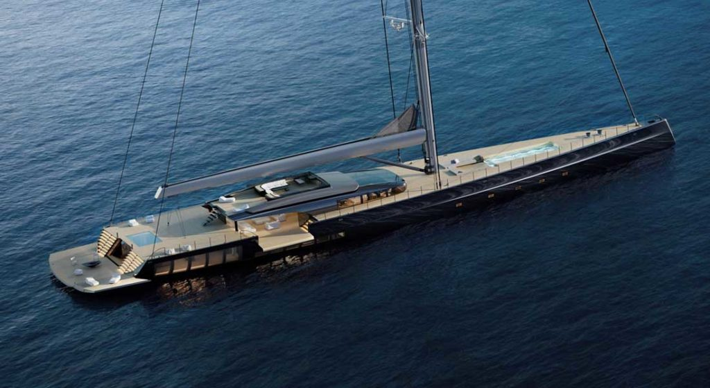 MM725 Malcolm McKeon Yacht Design sailing superyacht sloop