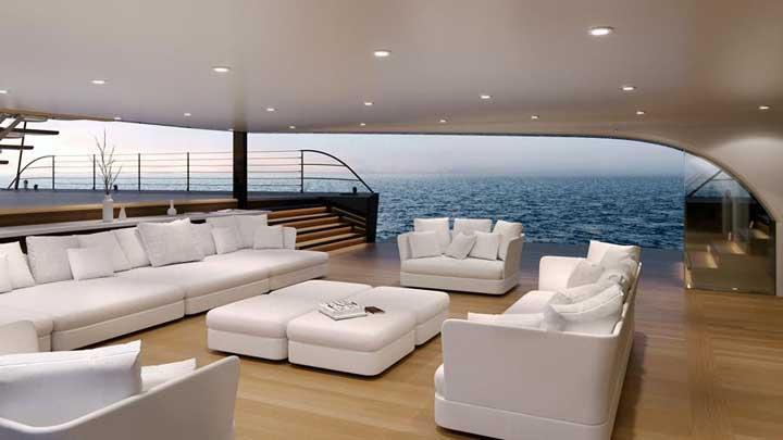 MM725 Malcolm McKeon Yacht Design cruising sloop superyacht